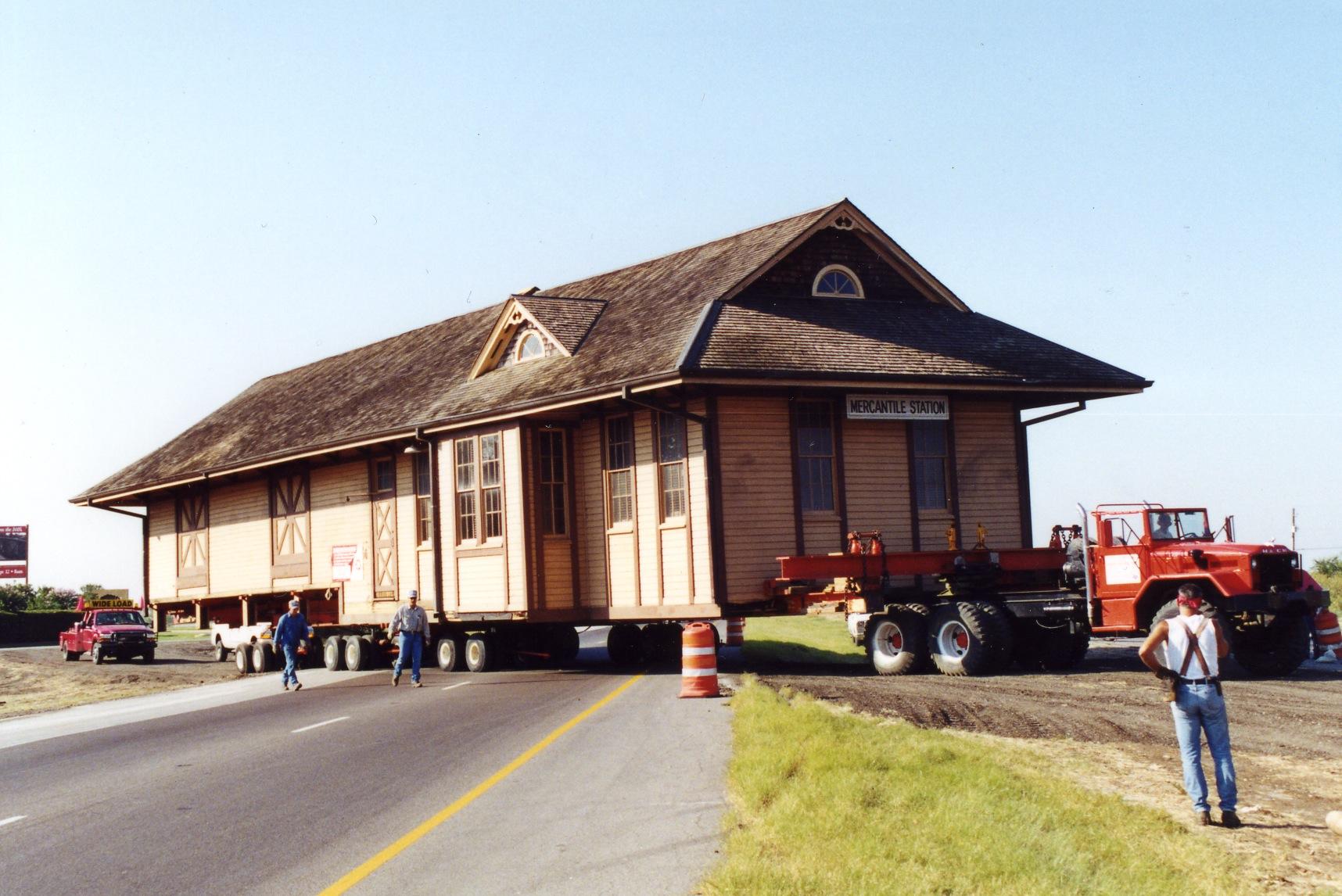Saginaw Train Depot #1