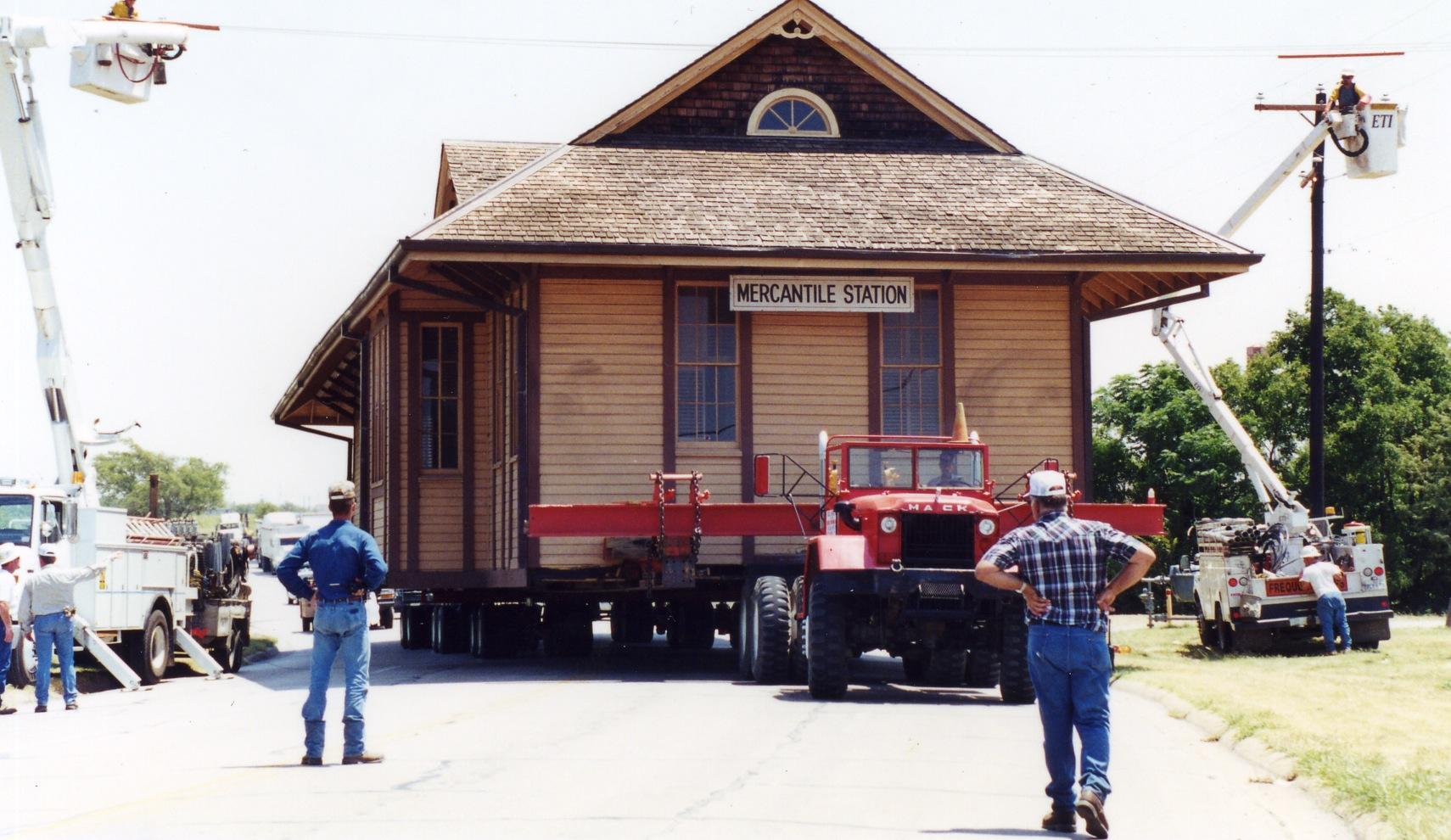 Saginaw Train Depot #3