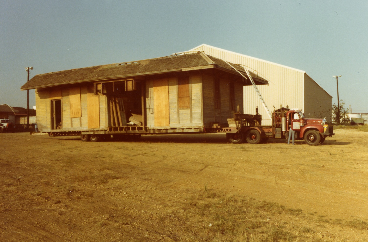 RR Depot 1 st move from Kossie, TX #3