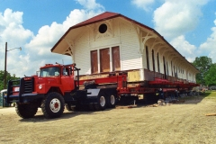 Train Depot in Itasca, Texas 2nd move #1